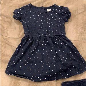 Baby gap star dress